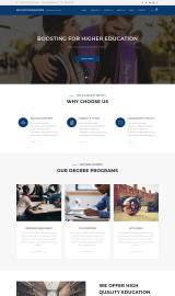 پیش نمایش موبایل قالب وردپرس Education Booster