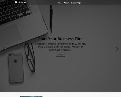 دانلود رایگان قالب وردپرس Business Elite