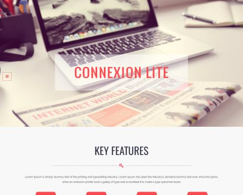 دانلود رایگان قالب وردپرس Connexions Lite