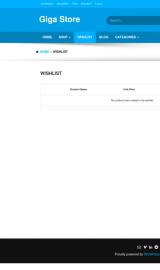 پیش نمایش موبایل قالب وردپرس Giga Store