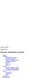 پیش نمایش موبایل قالب وردپرس Business Eye