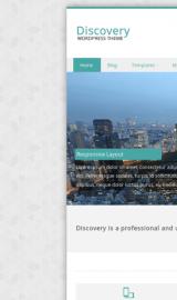 پیش نمایش موبایل قالب وردپرس Discovery
