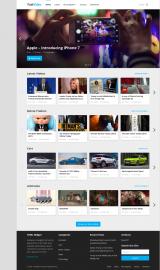 پیش نمایش موبایل قالب وردپرس FastVideo