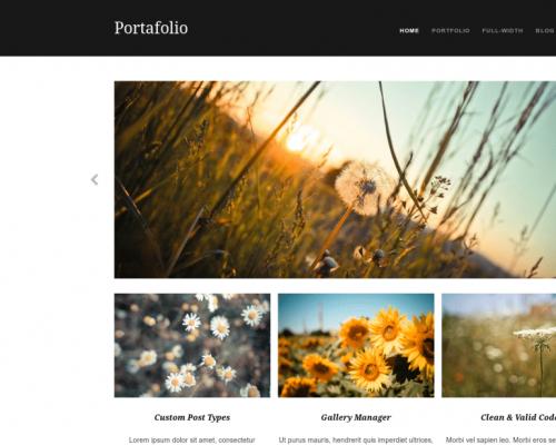 دانلود رایگان قالب وردپرس Portafolio