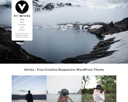 دانلود رایگان قالب وردپرس Vertex