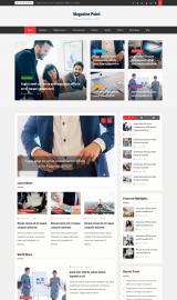 پیش نمایش موبایل قالب وردپرس Magazine Point