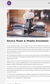 پیش نمایش موبایل قالب وردپرس MioMio