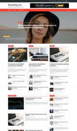 پیش نمایش موبایل قالب وردپرس NewsMag