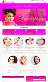 پیش نمایش موبایل قالب وردپرس Beauty and Spa