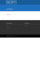 پیش نمایش موبایل قالب وردپرس Xcel