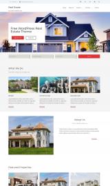 پیش نمایش موبایل قالب وردپرس Real Estate Lite
