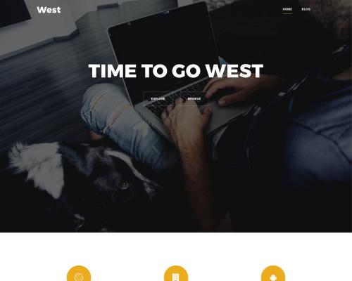 دانلود رایگان قالب وردپرس West