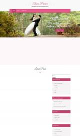 پیش نمایش موبایل قالب وردپرس SKT Wedding Lite