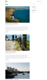 پیش نمایش موبایل قالب وردپرس Neve Blog