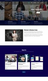 پیش نمایش موبایل قالب وردپرس Business Zone
