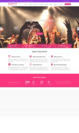 پیش نمایش موبایل قالب وردپرس Event Star