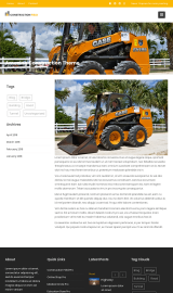 پیش نمایش موبایل قالب وردپرس Construction Field