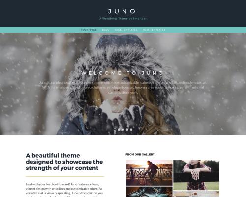 دانلود رایگان قالب وردپرس Juno