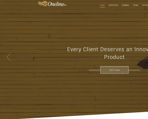 دانلود رایگان قالب وردپرس Oneline Lite
