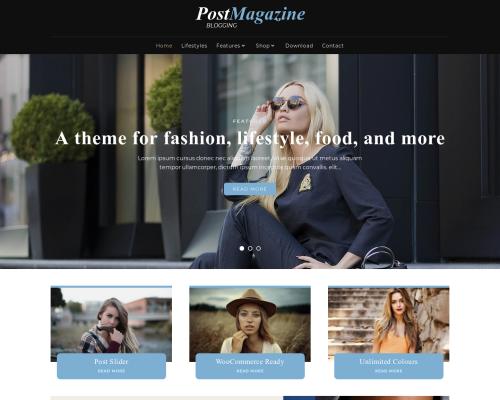 دانلود رایگان قالب وردپرس PostMagazine