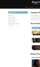 پیش نمایش موبایل قالب وردپرس PostMagazine
