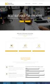 پیش نمایش موبایل قالب وردپرس BC Business Consulting