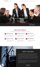 پیش نمایش موبایل قالب وردپرس Neve Lawyers