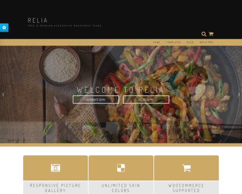 دانلود رایگان قالب وردپرس Relia