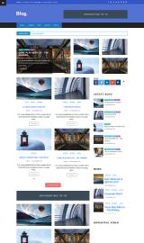 پیش نمایش موبایل قالب وردپرس World Blog