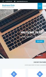 پیش نمایش موبایل قالب وردپرس Business Club