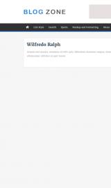 پیش نمایش موبایل قالب وردپرس Blog Zone