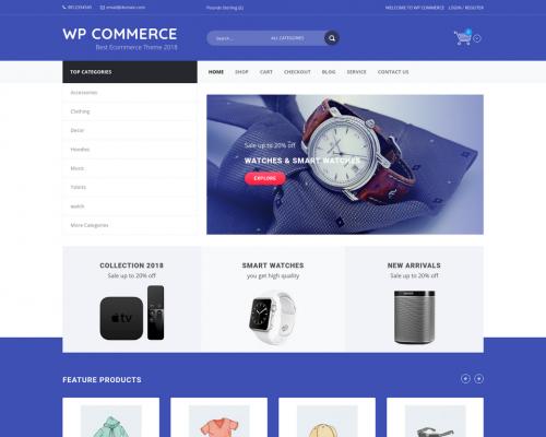 دانلود رایگان قالب وردپرس WP Commerce