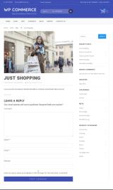 پیش نمایش موبایل قالب وردپرس WP Commerce