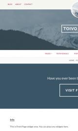 پیش نمایش موبایل قالب وردپرس Toivo Lite