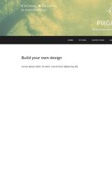 پیش نمایش موبایل قالب وردپرس Pixgraphy
