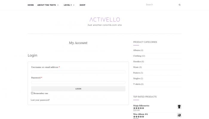 پیش نمایش دسکتاپ قالب وردپرس Activello