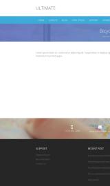 پیش نمایش موبایل قالب وردپرس Ultimate