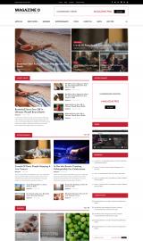 پیش نمایش موبایل قالب وردپرس Magazine O