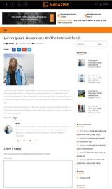 پیش نمایش موبایل قالب وردپرس Multipurpose Magazine
