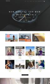 پیش نمایش موبایل قالب وردپرس ShopIsle