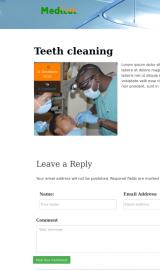 پیش نمایش موبایل قالب وردپرس Medical Life