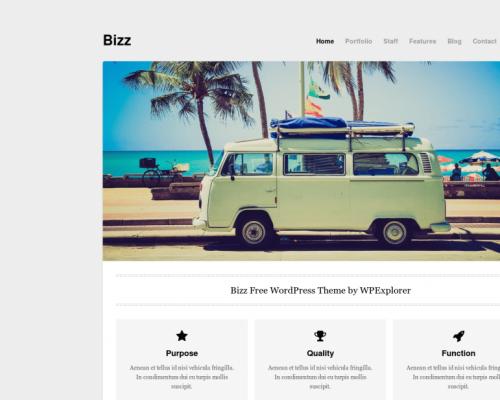 دانلود رایگان قالب وردپرس Bizz