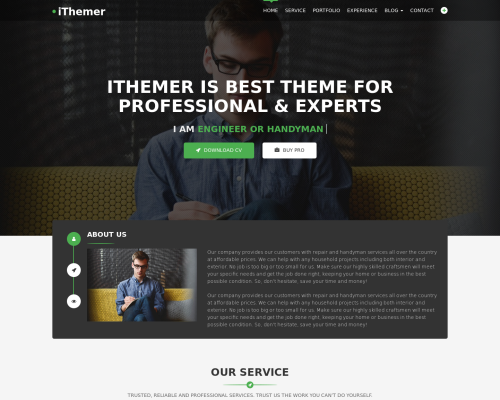 دانلود رایگان قالب وردپرس iThemer