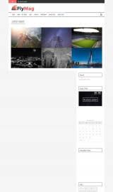 پیش نمایش موبایل قالب وردپرس FlyMag