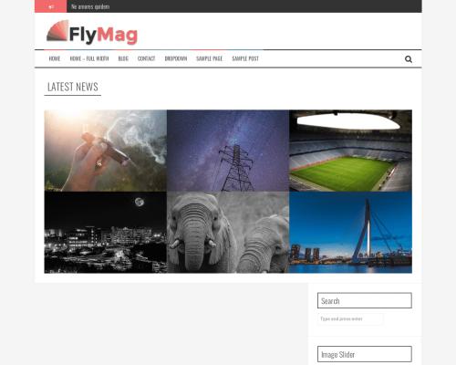 دانلود رایگان قالب وردپرس FlyMag