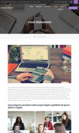 پیش نمایش موبایل قالب وردپرس Business Gravity