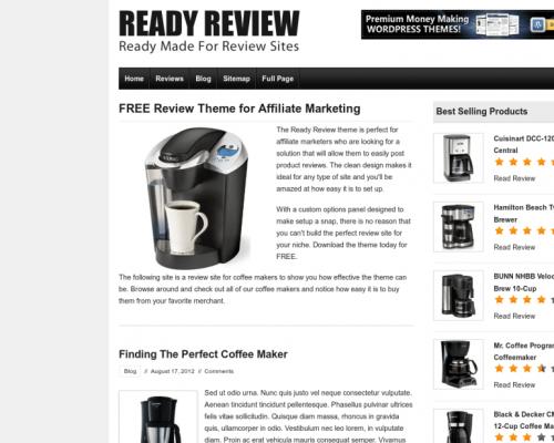 دانلود رایگان قالب وردپرس Ready Review