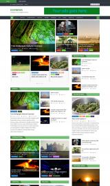پیش نمایش موبایل قالب وردپرس Eggnews