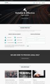پیش نمایش موبایل قالب وردپرس Legal