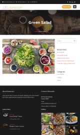 پیش نمایش موبایل قالب وردپرس Restaurant Recipe